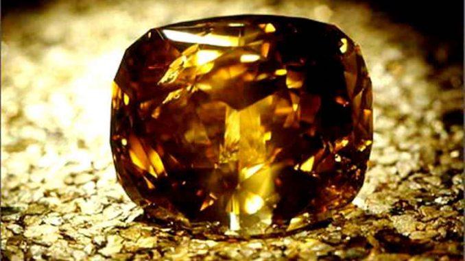 Der größte geschliffene diamant der Welt