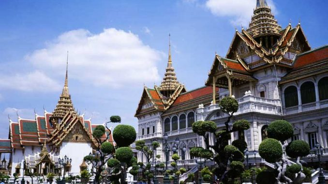 Grand Palace in Bangkok Thailand