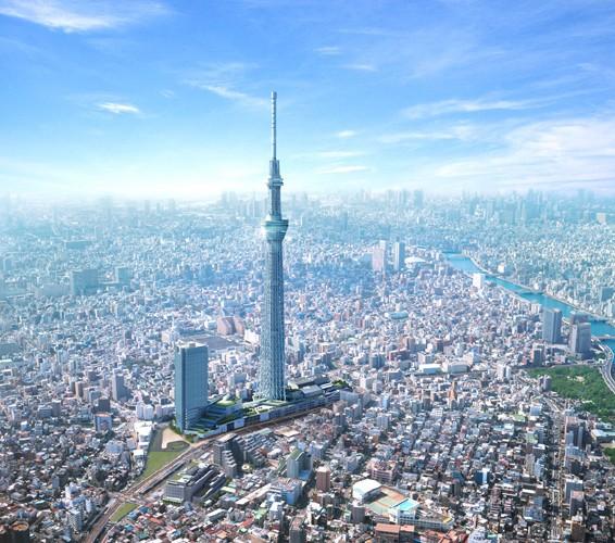 Tokyo Sky Tree  – Der größte Fernsehturm der Welt