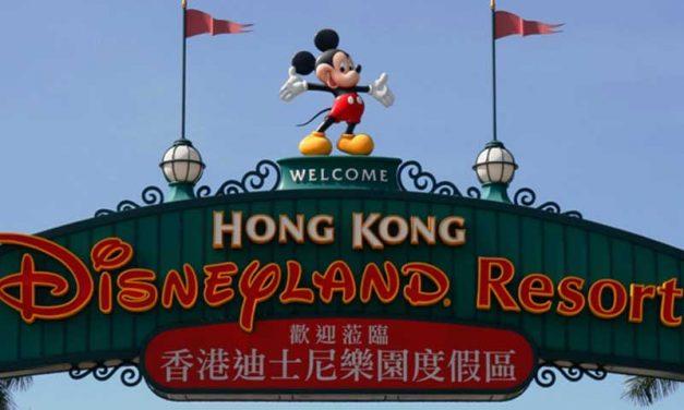 Wie gross ist das Disneyland Hongkong
