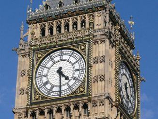Big Ben Glockenturm in London