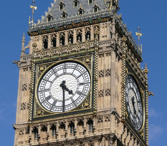 Wie groß ist Big Ben in London