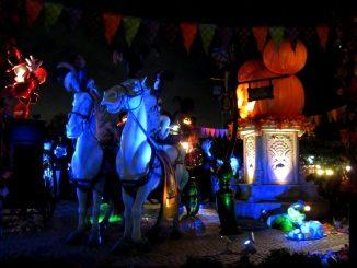 Tokio Disneyland bei Nacht
