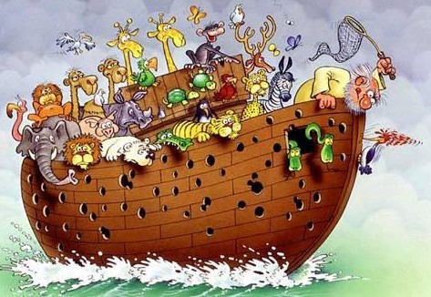 Wie Gross war die Arche Noah
