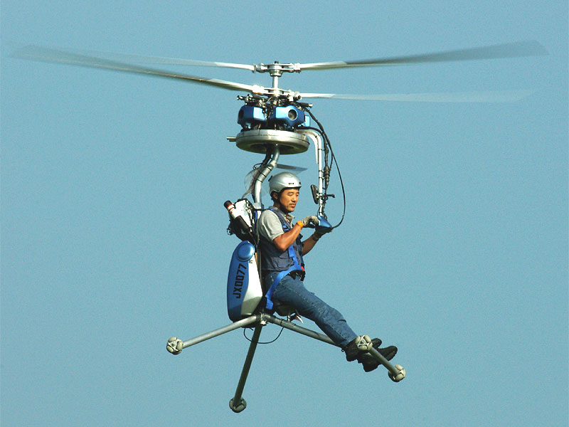 Der kleinste Helikopter der Welt