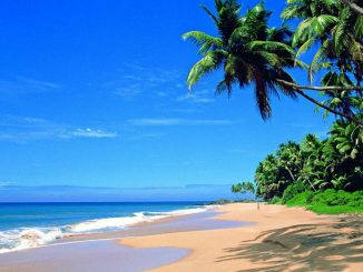 Strand am Indischen Ozean