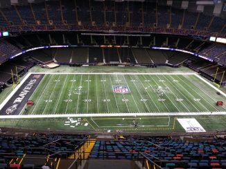 American - Football Spielfeld