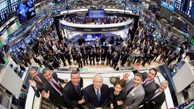 Wie groß ist die New York Aktien Börse - NYSE