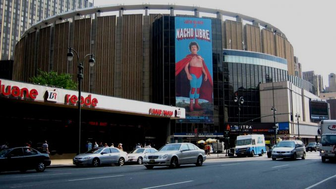 Madison Square Garden Bestuhlung
