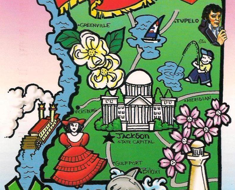 Wie Groß ist der US-Bundesstaat Mississippi