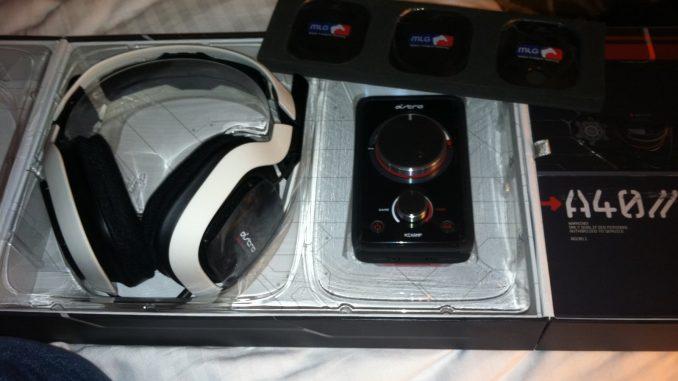 Das Astro A 40 Headset