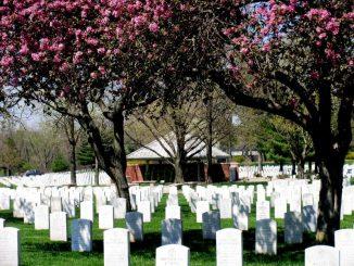 Nationalfriedhof in den USA