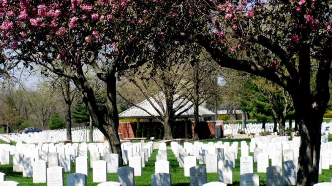 Nationalfriedhof in den USA