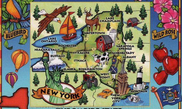 Wie Groß ist der US-Bundesstaat New York