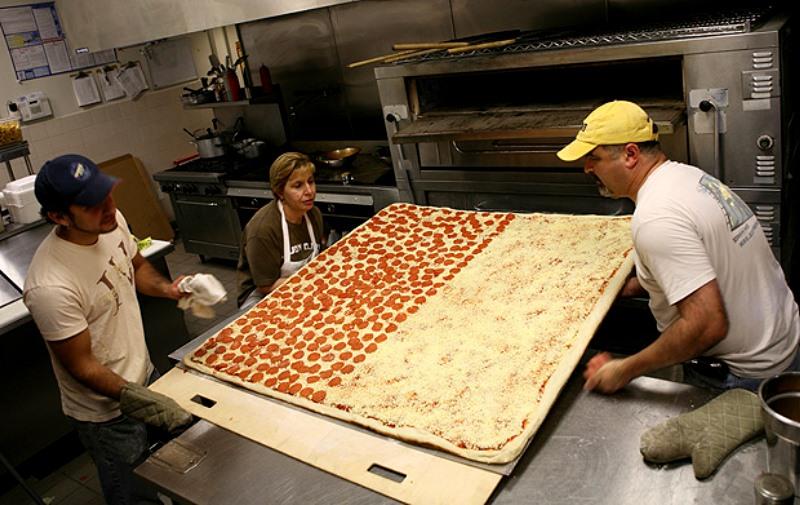 Die Größte Pizza der Welt