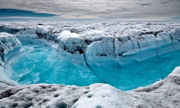 Wie dick ist das Eis in Grönland