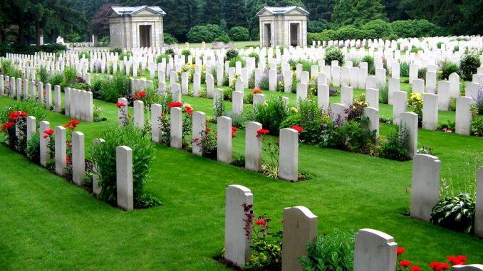 Der Ohlsdorf Friedhof in Hamburg