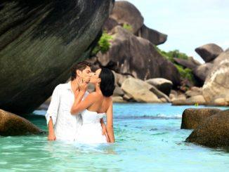 Hochzeit in den Tropen
