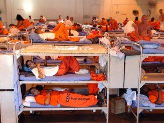 Insassen im größten Gefängnis der Welt