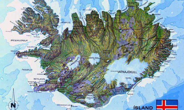 Wie groß ist Island