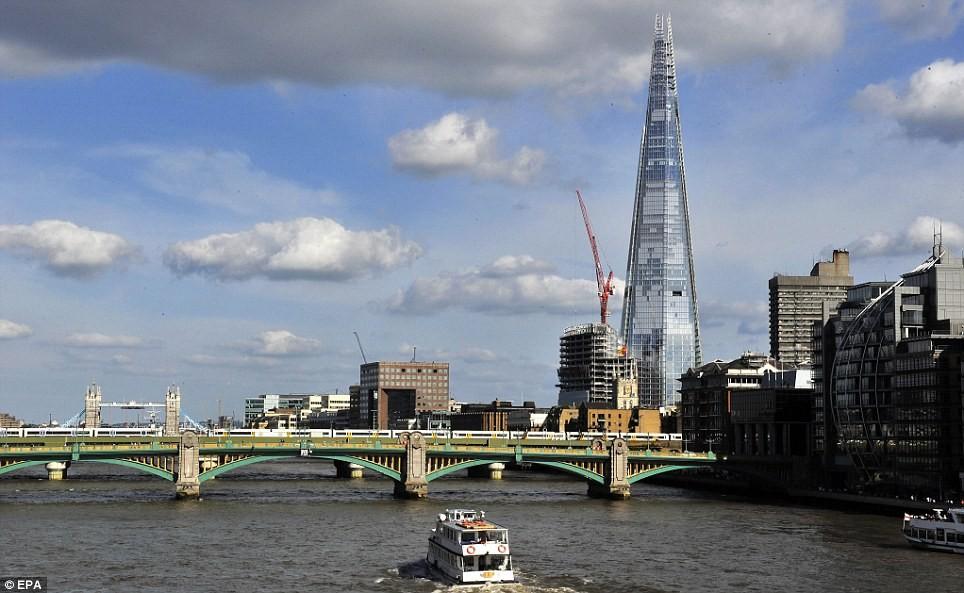 Das höchste Gebäude in Europa