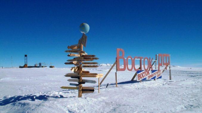 Wostok Station in der Antarktik