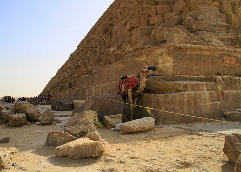 Wie groß ist die Cheops Pyramide