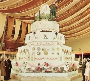Die größte Geburtstagstorte