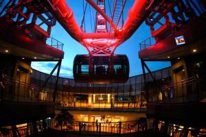 Der Singapore Flyer Das größte Riesenrad der Welt