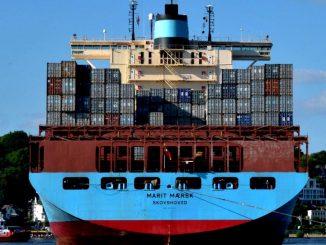 Das längste Containerschiff der WEelt