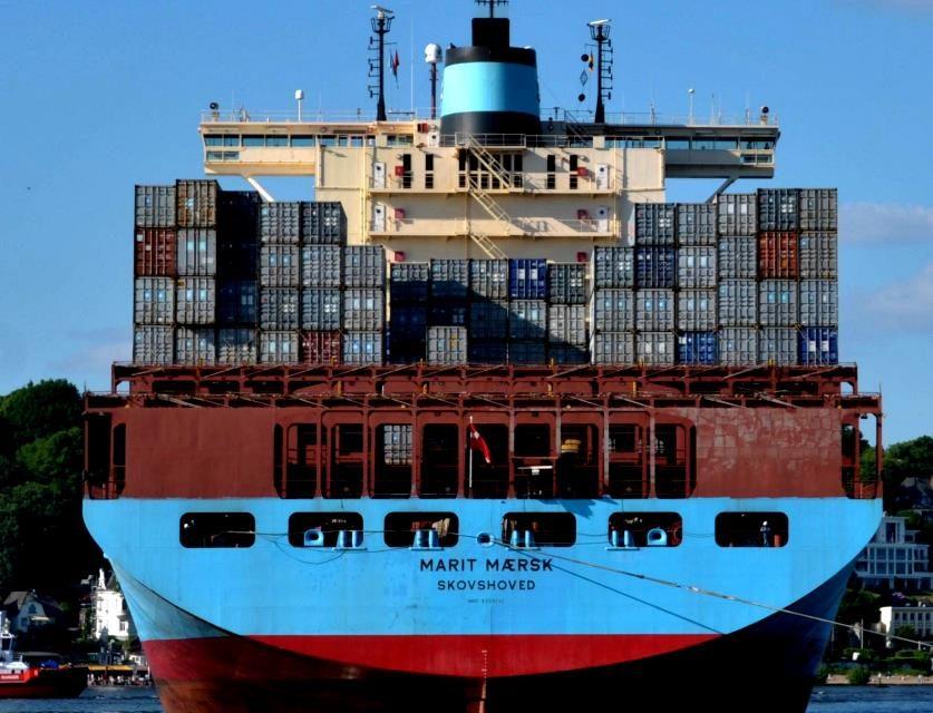 Das längste Containerschiff der Welt