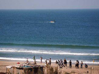 Strand am Gazastreifen