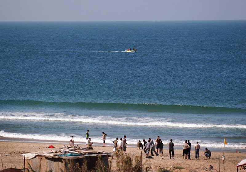 Wie lang ist der Gazastreifen