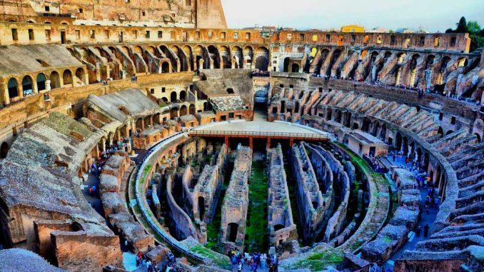 Wie groß ist das Kolosseum in Rom