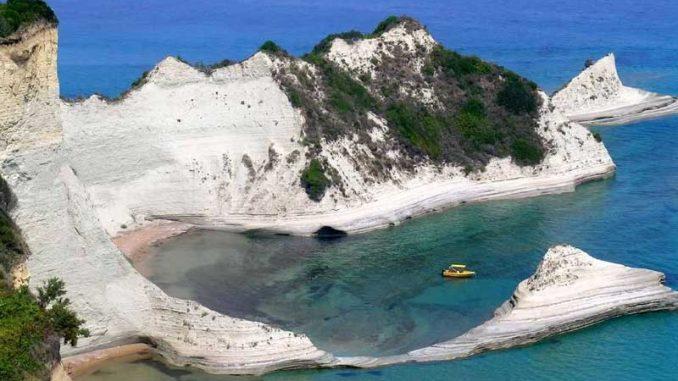 Eine traumhafte Bucht auf Korfu - Griechenland