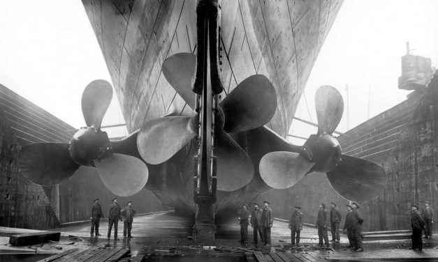 Wie groß war die Titanic