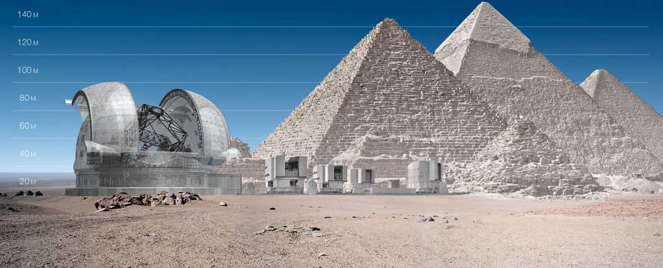 E-ELT – Das größte Teleskop der Welt
