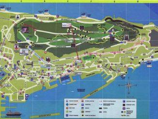 Karte von Gibraltar