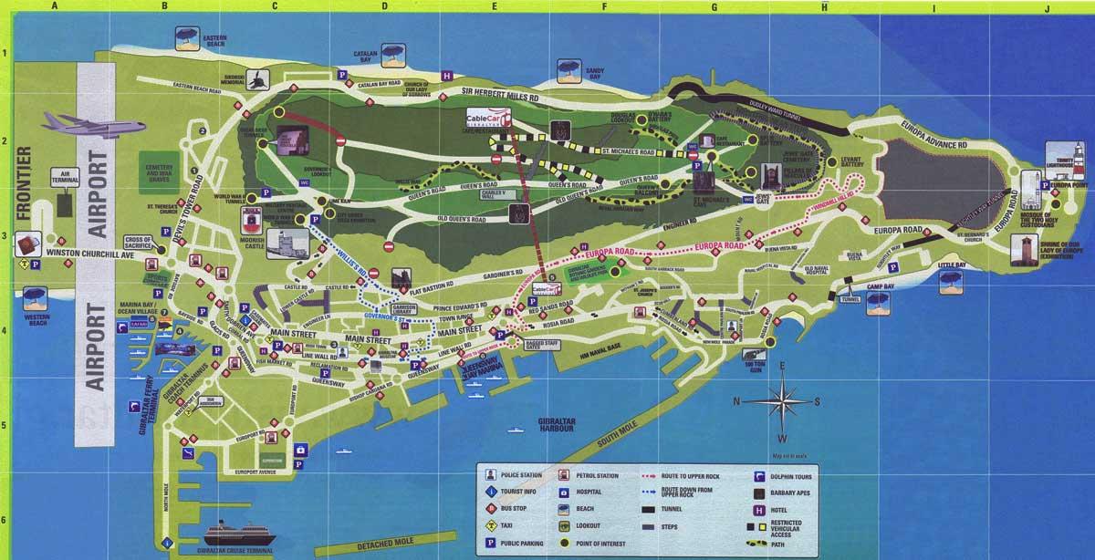 Wie groß ist Gibraltar