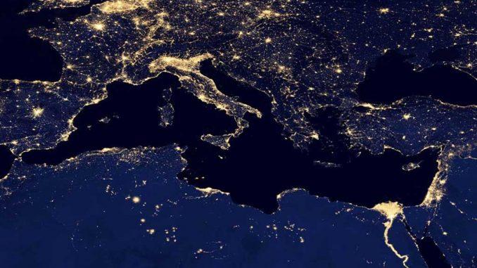 Wie tief ist das Mittelmeer