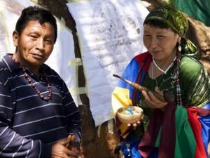 Altai Stamm in Sibirien