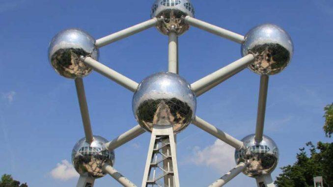 Das Atomium in Belgien