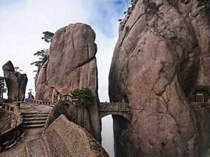 Die Brücke der Unsterblichen im Gelben Gebirge