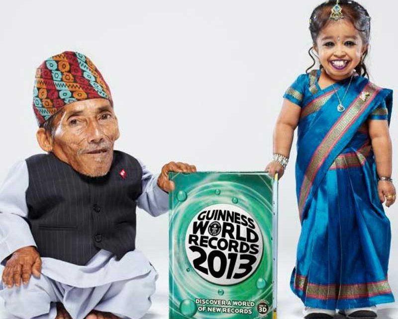 Die kleinste Frau der Welt