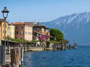 Beliebtes Fotomotiv am Gardasee