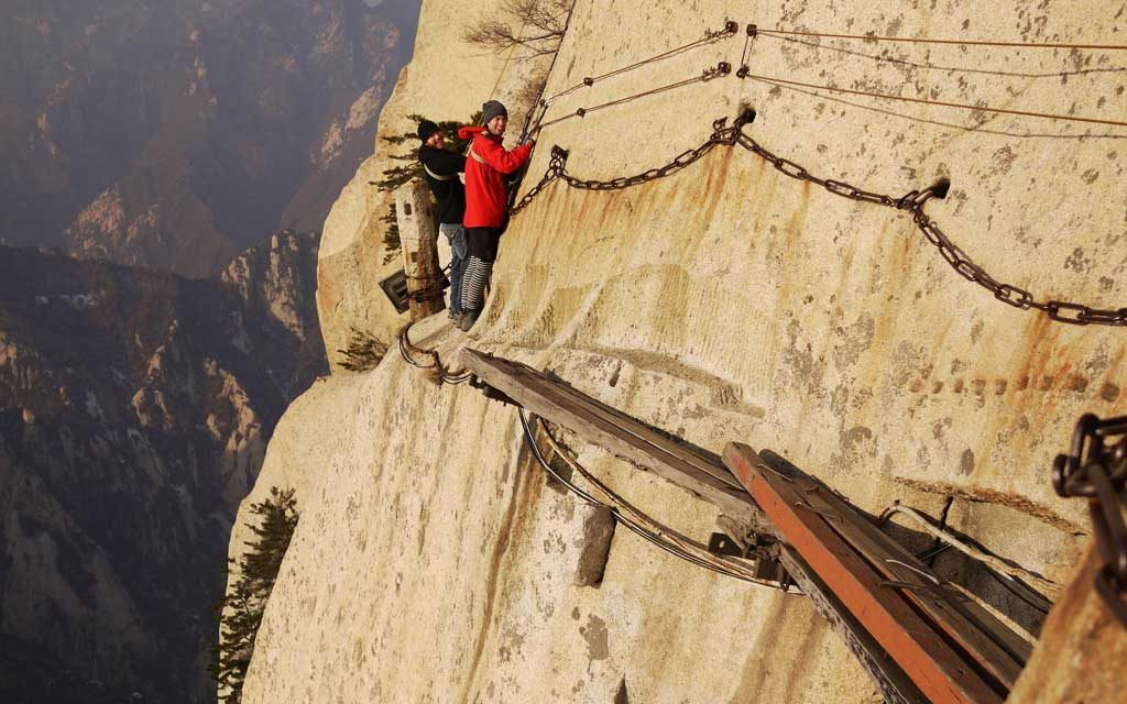 Wie hoch ist die Brücke der Unsterblichen