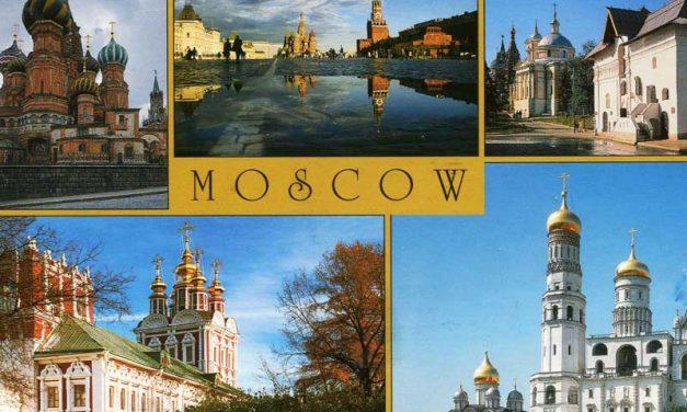 Wie groß ist Moskau