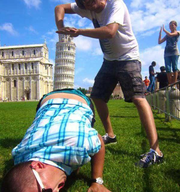 Wie groß ist der schiefe Turm von Pisa