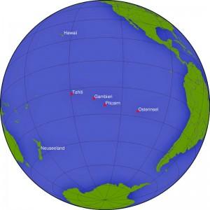 Die kleinste bewohnte Inlsel in der Mitte des Pazifik