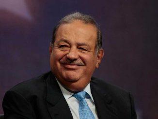 Der Mexicanische Medienmogul Carlos Slim l